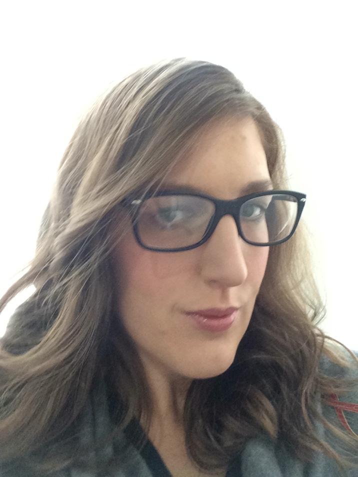 Post hair and make up selfie