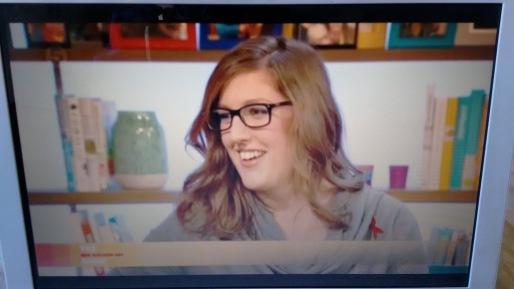 Lizzie Jordan on Saturday Live