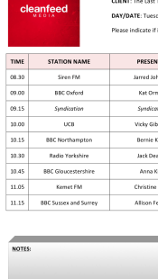Interview line up for National HIV Testing Week
