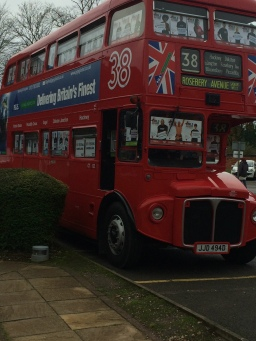 The Saving Lives Big Red Bus for WAD2015