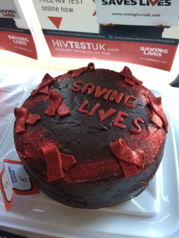 Amazing Bake Off entry for Saving Lives WAD2015