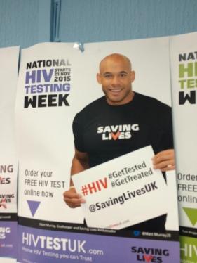 Matt Murray, Saving Lives ambassador