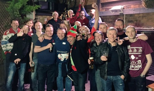 Beyond Positive 2015 Christmas Pub Crawl