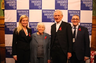 L-R Nicola Blackwood MP, Baroness Gould, Lord Fowler, Ian Green
