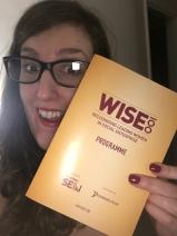 Lizzie Jordan celebrating her WISE100 win!